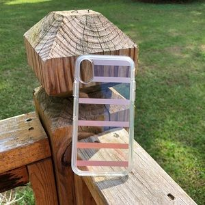 📱iPhone X Clear/Stripped OtterBox Symmetry Case